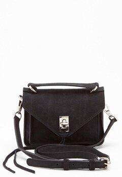 Rebecca Minkoff Darren Group Leather Bag 001 Black/Silver Bubbleroom.dk