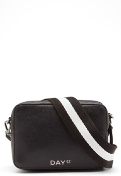 Day Birger et Mikkelsen Day Patch Leather Bag 12000 Black Bubbleroom.dk