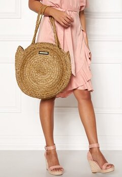 DAY ET Day Straw Round Bag Natural Bubbleroom.dk