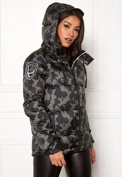 D.Brand Eskimå Camo Jacket Black Camo Bubbleroom.dk