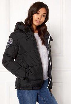 D.Brand Eskimå Jacket Black/Black Bubbleroom.dk