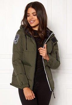 D.Brand Eskimå Jacket Olive Green Bubbleroom.dk