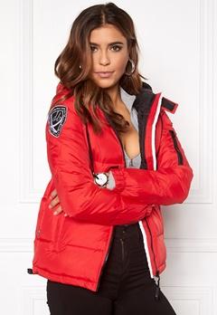 D.Brand Eskimå Jacket Red Bubbleroom.dk