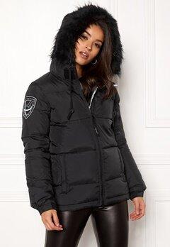 D.Brand Eskimå Short Jacket Black/Black Bubbleroom.dk