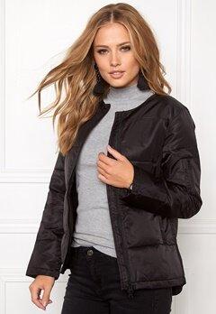 D.Brand Luna r-neck jacket Black Bubbleroom.dk