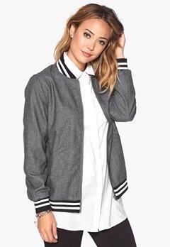 D.Brand Wool Jacket Grey Bubbleroom.dk