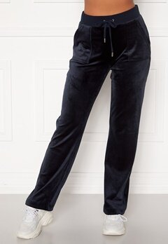 Juicy Couture Del Ray Classic Velour Pant Night Sky Bubbleroom.dk