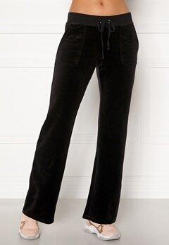 Juicy Couture Del Ray Classic Velour Pant Black Bubbleroom.dk