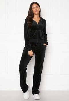Juicy Couture Del Ray Classic Velour Pant Black Bubbleroom.dk