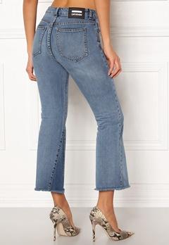 Dr. Denim Genesis Jeans Mid Blue Wedge Bubbleroom.dk