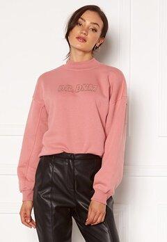 Dr. Denim Memphis Sweatshirt M97 Rose Blush NV Em Bubbleroom.dk