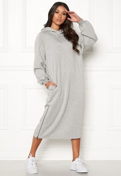 Dr. Denim Mosi Dress Light Grey Mix Bubbleroom.dk