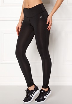 Drop of Mindfulness Bow II Training Tights Black Bubbleroom.dk
