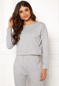 Drop of Mindfulness Charlotte Top Grey Mel Bubbleroom.dk