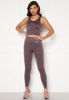 Drop of Mindfulness Cora seamless leggings Dusty plum Bubbleroom.dk