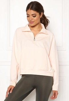 Drop of Mindfulness Essa Zipped Sweater 518 Pink Stone Bubbleroom.dk