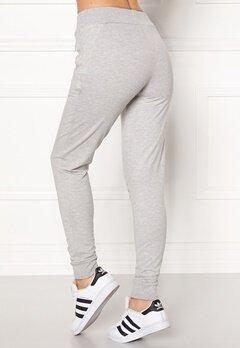 Drop of Mindfulness Heather Sweat Pants Grey Melange Bubbleroom.dk