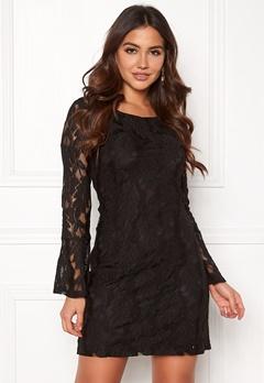 DRY LAKE Beatrice Dress Black Bubbleroom.dk