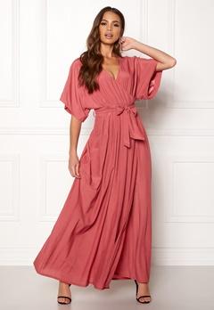 DRY LAKE Florence Dress Dull Pink Bubbleroom.dk