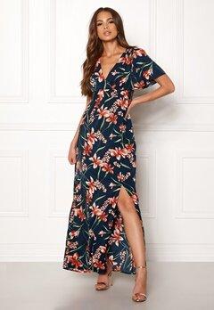 DRY LAKE Jasmin Long Dress Petal Print Bubbleroom.dk