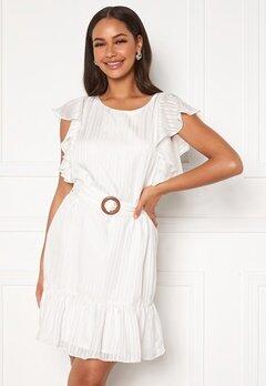 DRY LAKE Kharma Dress 142 White Stripe Jac Bubbleroom.dk