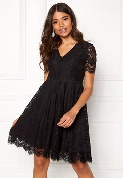 DRY LAKE Serena Dress Black Lace Bubbleroom.dk