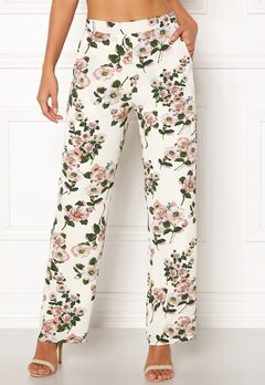 DRY LAKE Trina Trousers Wall Paper Print Bubbleroom.dk