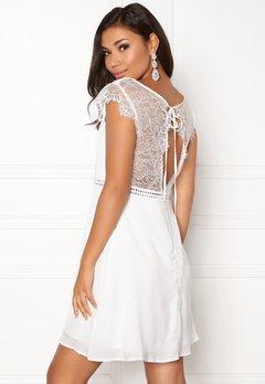 DRY LAKE Valerie Dress White Bubbleroom.dk