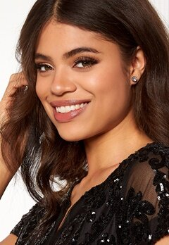 Dyrberg/Kern Noble Crystal Earrings Silver Bubbleroom.dk
