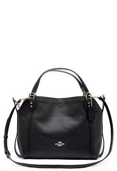 COACH Edie Leather Bag LIBLK Black Bubbleroom.dk