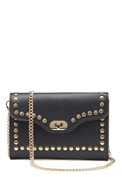 ONLY Elisa Stud Crossbody Bag Black/Gold Bubbleroom.dk