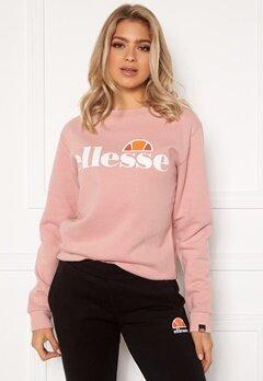 Ellesse El Agata Sweatshirt Crewneck Pink Bubbleroom.dk