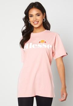 Ellesse El Albany T-Shirt Light Pink Bubbleroom.dk