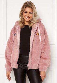 Ellesse El Giovanna Jacket Hoody Pink Bubbleroom.dk
