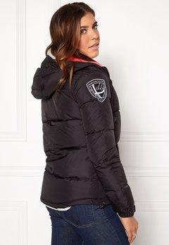 D.Brand Eskimå Jacket Black/Pink Bubbleroom.dk