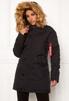 Alpha Industries Explorer Jacket Black Bubbleroom.dk