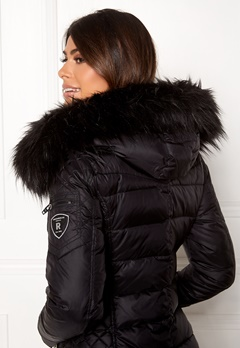 ROCKANDBLUE Faux Fur Trim Black Bubbleroom.dk