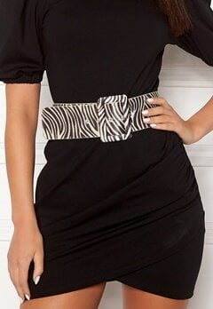 Ivyrevel Faux Pony Hair Belt Black/White Bubbleroom.dk