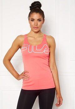 FILA Aisha Racer With Bra Shell Pink/White Bubbleroom.dk