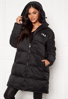 FILA Bronwen Puff Hood Jacket 002 black Bubbleroom.dk