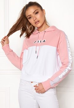 FILA Chelsea Hooded Sweat Coral Blush Bubbleroom.dk