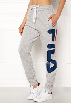FILA Classic Basic Sweatpants Light Grey Melange Bubbleroom.dk