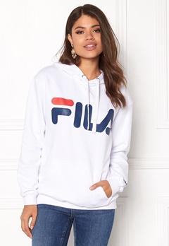 FILA Classic Logo Hood Kangaro White Bubbleroom.dk