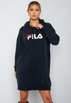 FILA Elish Hoody Dress Black bubbleroom.dk