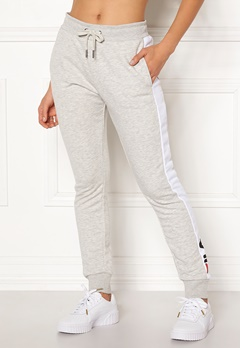 FILA Freya Sweat Slim Pant Light Grey Mel Bubbleroom.dk