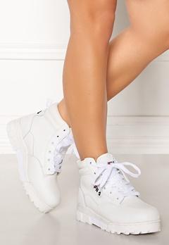 FILA Grunge L Mid Boots White Bubbleroom.dk