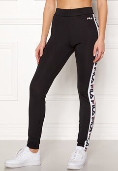 FILA Holly Leggings Black Bubbleroom.dk
