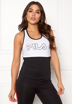FILA Mirth Tank Top Bright White / Black Bubbleroom.dk