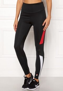 FILA Pelia Long Tights Black Bubbleroom.dk