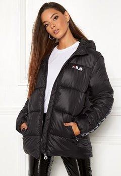 FILA Shigemi Padded Jacket 002 black Bubbleroom.dk